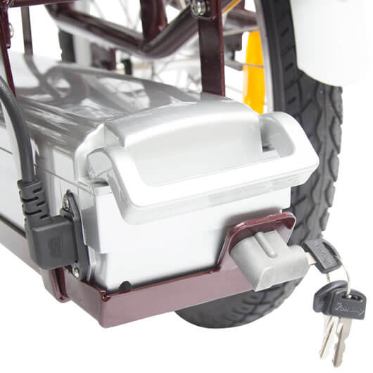 electric-bike-tricycle-lockable-battery